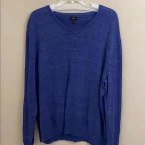 Jcrew pull over V-neck sweater size extra large